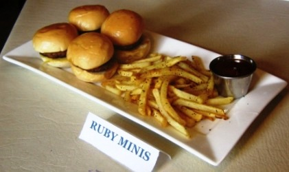 Ruby Tuesday's Ruby 'Burger' Minis